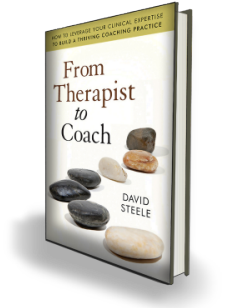 New book from Wiley- From Therapist to Coach